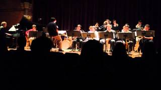 "Cornell University Jazzy Ensemble December 7, 2013 ""Close Your Eyes"""