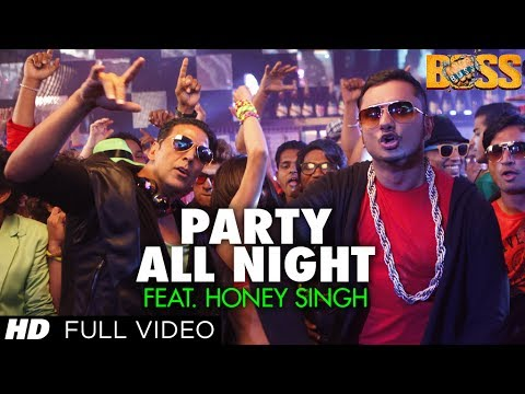 Party all night feat honey singh full video boss All hd song