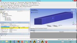 Air Flow Analysis Part 6: Rectangular Duct Meshing Procedure