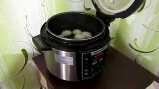 Мультиварка REDMOND RMC - M110 как сварить яйца.