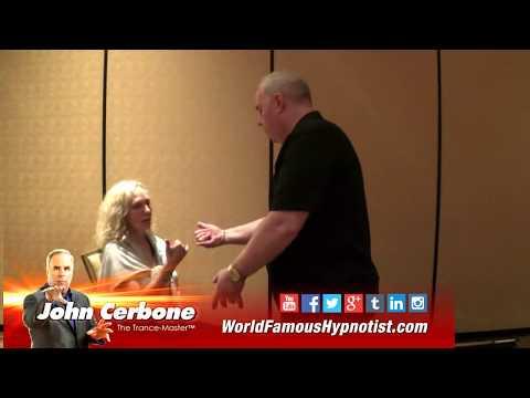"John Cerbone's Amazing ""Hang-Loose - Fist Bump Speed Induction"" - demoed LIVE in Las Vegas"