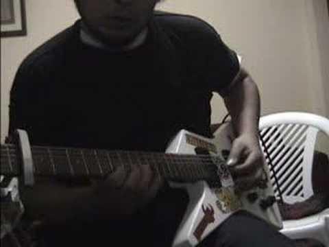 White Stripes: Conquest (guitar cover)