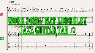 """Hi it's ben ! here is a tab cover of """"work song"""" by nat adderley.let me know what you think in the comments have fun ↓↓↓↓↓↓↓↓↓↓↓↓↓↓↓i love this song, so ..."""