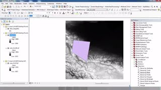 Taking a Small Portion from DEM in ArcGIS ||Two Methods