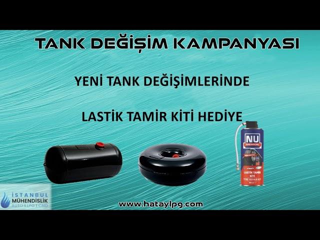Tank Değişim Hatay İstanbul Otogaz Mühendislik