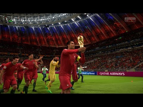 World Cup 2018 Russia Final | Portugal Vs Spain | FIFA 18 World Cup Mode Gameplay