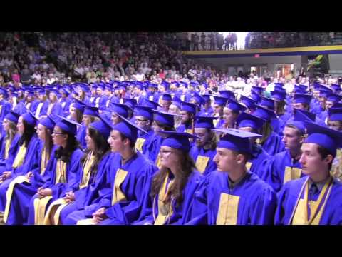 East Noble High School Commencement 2015