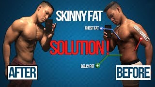 I'm SKINNY FAT, fixing My Stubborn fat Problem... (SHOCKING SCIENCE BASED SOLUTION)