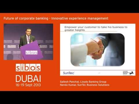 Sibos 2013 - Joint Speaking Session by Lloyds and SunTec