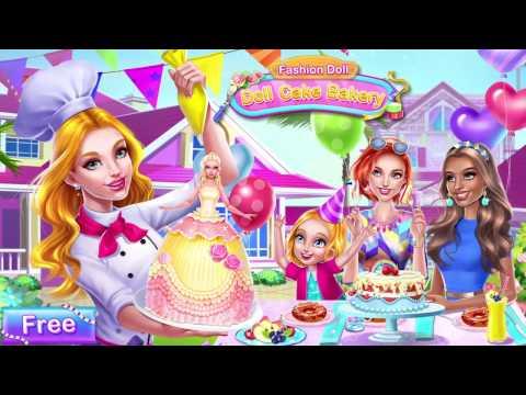 Fashion doll - Doll Cake Bakery