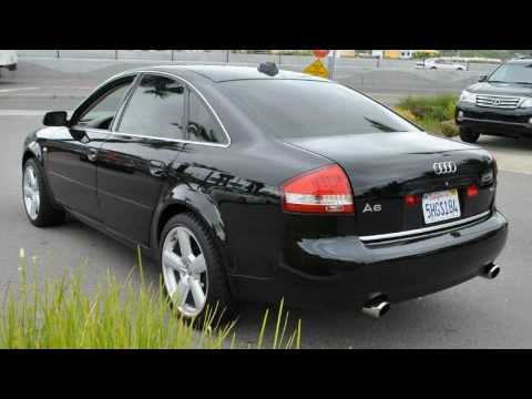 used 2004 audi a6 san rafael ca youtube. Black Bedroom Furniture Sets. Home Design Ideas