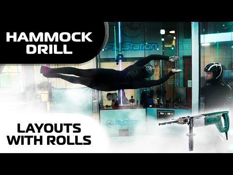 Training Hammock Drill and Layouts with rolls (Leo & Ninja)