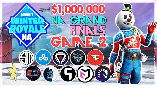 $1,000,000 🥊NA Winter Royale Grand Finals🥊 Game 2 (Fortnite)
