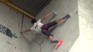 Sofía Correa (escalada) - Juegos Bolivarianos Trujillo 2013
