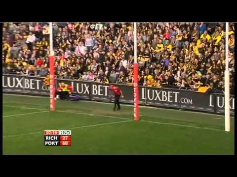 Round 22 - Richmond vs. Port Adelaide - Ben Cousins final match