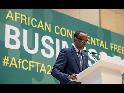 AU BUSINESS FORUM: PRESIDENT KAGAME OPENING REMARKS