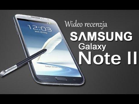 Samsung Galaxy Note 2 (N7100) - Wideo recenzja na FrazPC.pl