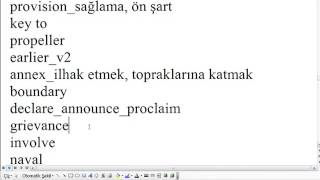 250 kelime yds yökdil proficiency hazırlık