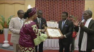 Guinée Equatoriale, FORA 2014 attribué au président africain à Téodoro OBIANG NGUEMA MBASOGO