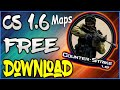 Counter Strike: Easy Way to Download CS 1.6 Updated Maps |Urdu/Hindi| (2018)