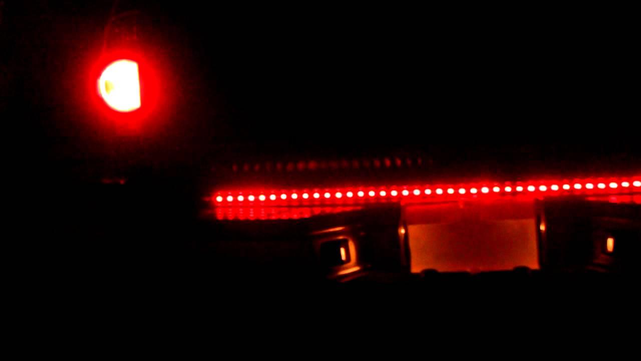 Led tailgate light bar youtube mozeypictures Choice Image