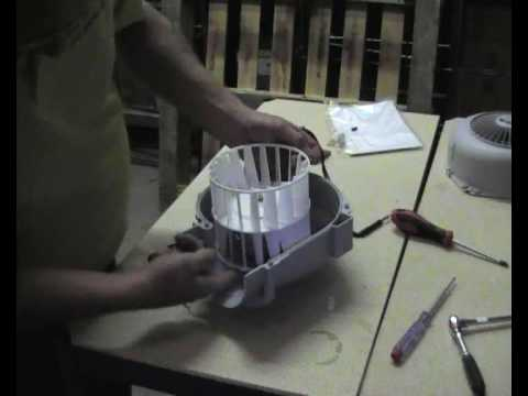 How to replace a fan motor in a cooker hood  YouTube