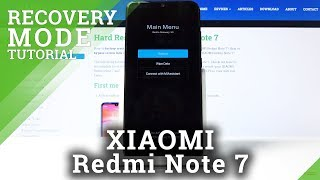How to Open Recovery Mode in XIAOMI Redmi Note 7 – MIUI Recovery Mode
