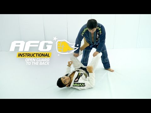 AFG :: Instructional :: Roberto Satoshi :: Open Guard to the Back