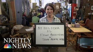 Amy Klobuchar's Big Idea: Improving Mental Health Care And Addiction Treatment | NBC Nightly News