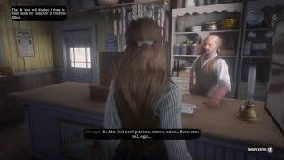 "Red Dead Redemption 2 (PS4) - Sadie Calls Herself ""Mrs. Kilgore"", Arthur is ""Mr. Kilgore"""