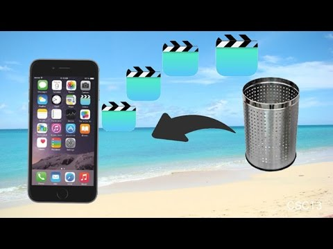 How to Recover Deleted Videos on iPhone 7