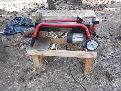 Foot Pedal Modification for Homelite Electric Splitter