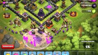 Clash Of Clans: Attacks! SUCCESS! Barch heroes, 2800+ troph