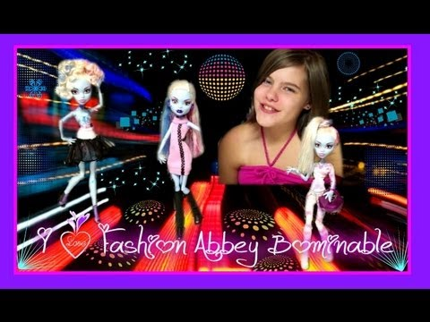 Monster High Abbey Bominable I ♥ Fashion Review by wookiewarrior23
