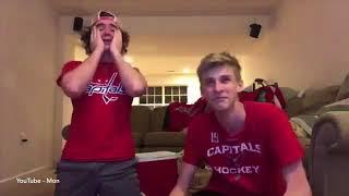 Washington Capitals Fans React to Winning the 2018 Stanley Cup   Washington vs Las Vegas   FansReact
