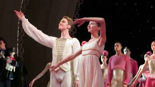 Щелкунчик, Михайловский театр, поклоны (Валерия Запасникова, Джулиан Маккей)