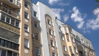 Ремонт фасада(Ремонт фасада жилого дома в Москве., 2014-07-06T10:29:16.000Z)