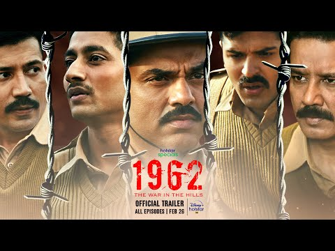 Hotstar Specials 1962 The War In The Hills | Official Trailer | Abhay Deol, Mahesh Manjrekar| Feb 26