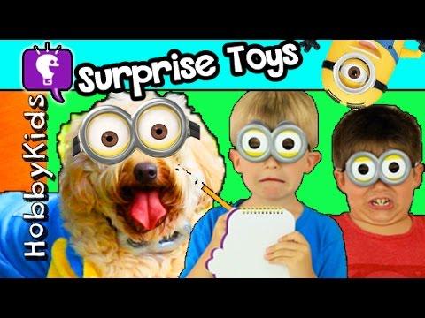 HobbyKids Get New Puppy Surprise Egg Dog Toys Poop