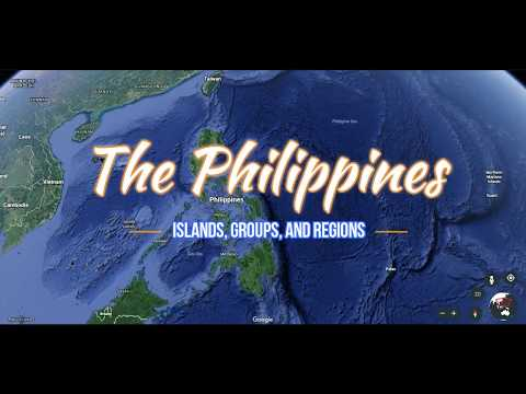 Philippines Islands Groups and Regions