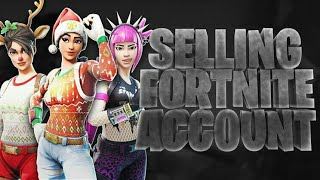 SELLING STACKED FORTNITE ACCOUNT RED NOSE RAIDER & NOGS OPS POWER CHORD FORTNITE ACCOUNT FOR SALE