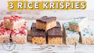 3 RICE KRISPIES TREATS with Chocolate Layers for #BuzyBeez | HONEYSUCKLE