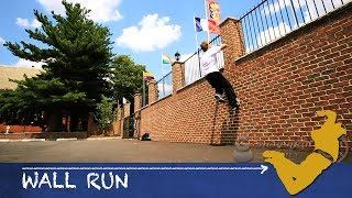 Parkour From Scratch #3 - Wall Run Tutorial - How to start Parkour