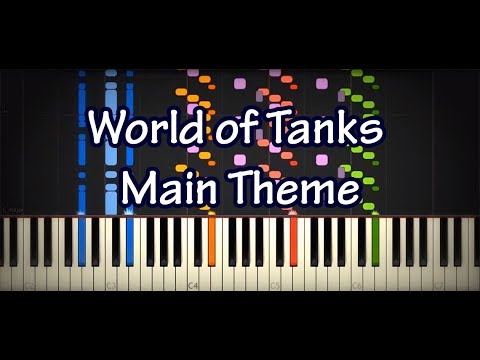 WoT Main Theme (Impossible Piano Cover) - World of Tanks OST