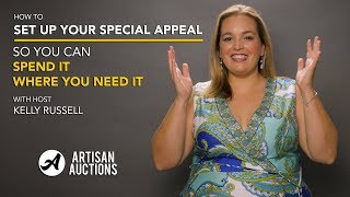 Benefit Gala Tutorial | Why You Should Set Up Your Special Appeal As Unrestricted Funds
