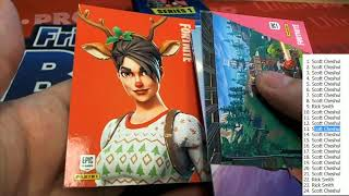 Panini Fortnite Series 1 Trading Cards Box ID FORTNITE101 2019 Panini Fortnite Series 1 Trading Cards Box ID FORTNITE101