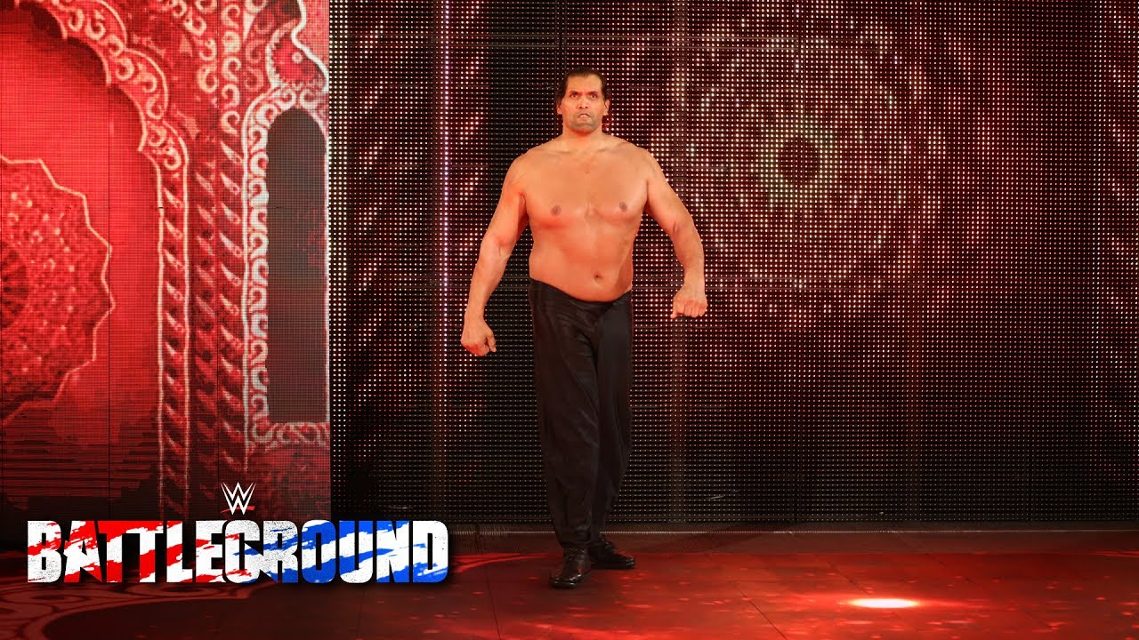 The Great Khali returns at WWE Battleground