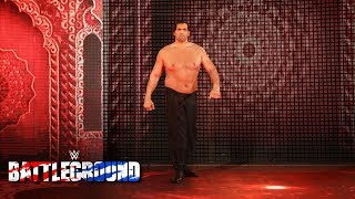 Video The Great Khali returns to assist Jinder Mahal in his Punjabi Prison Match: WWE Battleground 2017 download MP3, 3GP, MP4, WEBM, AVI, FLV September 2017