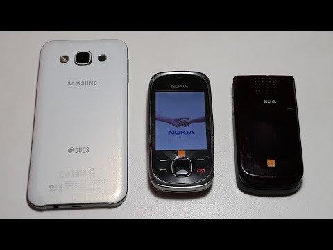 Nokia 7230 и Nokia 2720 кот в мешке из Германии я расстроен. Samsung E5 E500H/DS