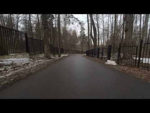 Санаторий Узкое   от церкви к прудам